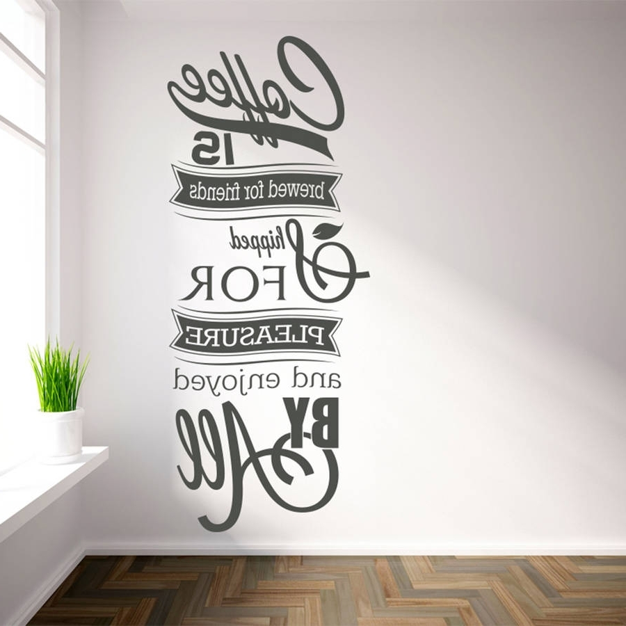 2017 Coffee Wall Art In Shocking Ideas Coffee Wall Art Home Remodel Poster Print Quotes Sign (View 2 of 15)