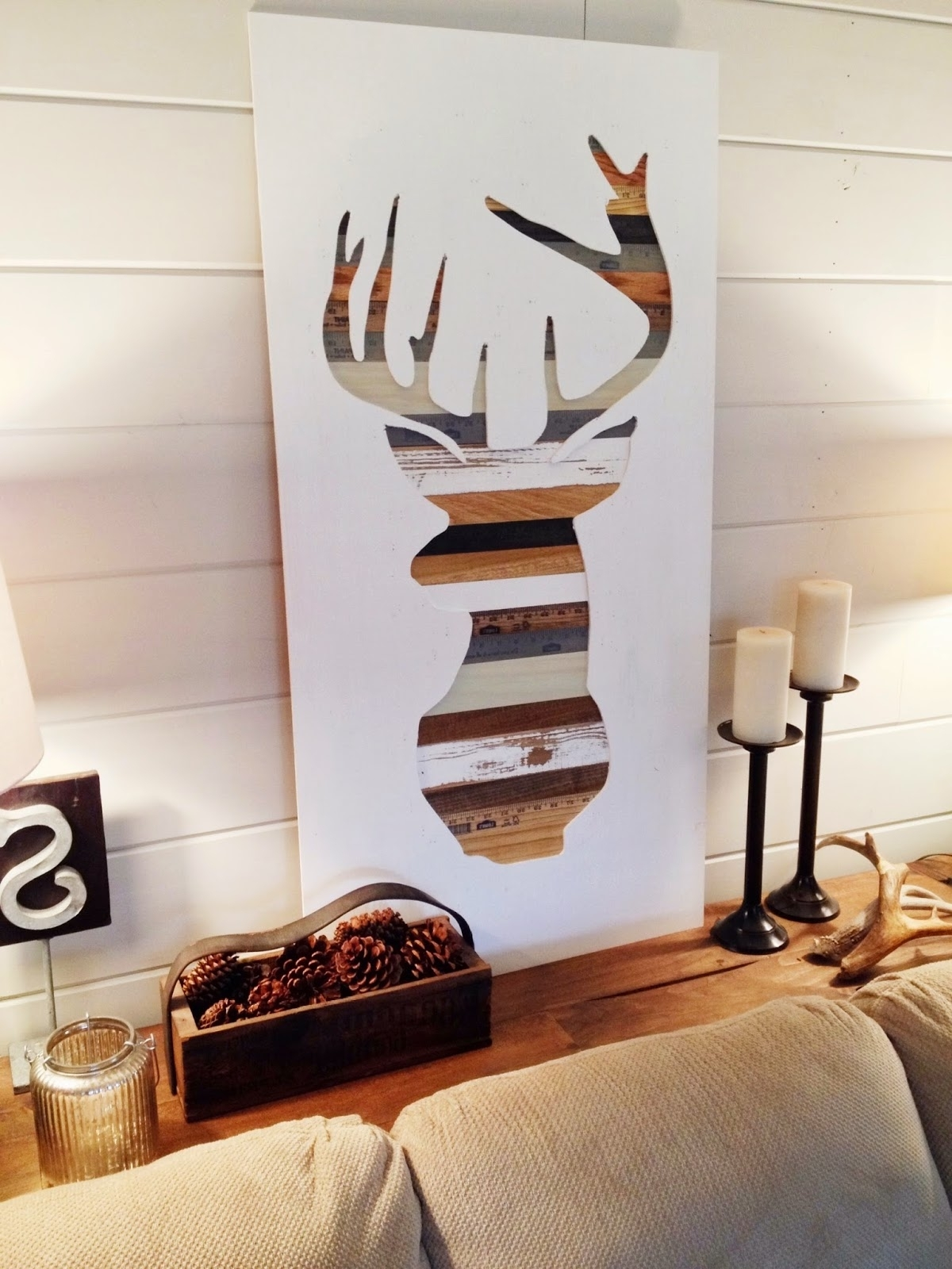 2017 Diy Wood Wall Art Projects – Sand And Sisal Throughout Diy Wood Wall Art (View 4 of 15)