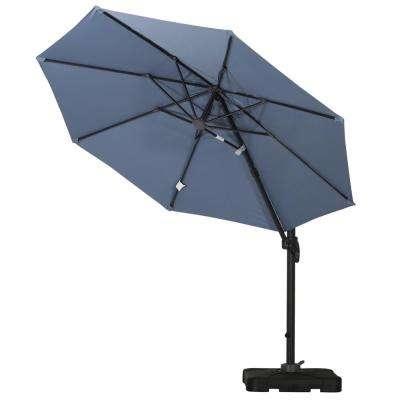 2017 Drape – Patio Umbrellas – Patio Furniture – The Home Depot Throughout Drape Patio Umbrellas (View 1 of 15)