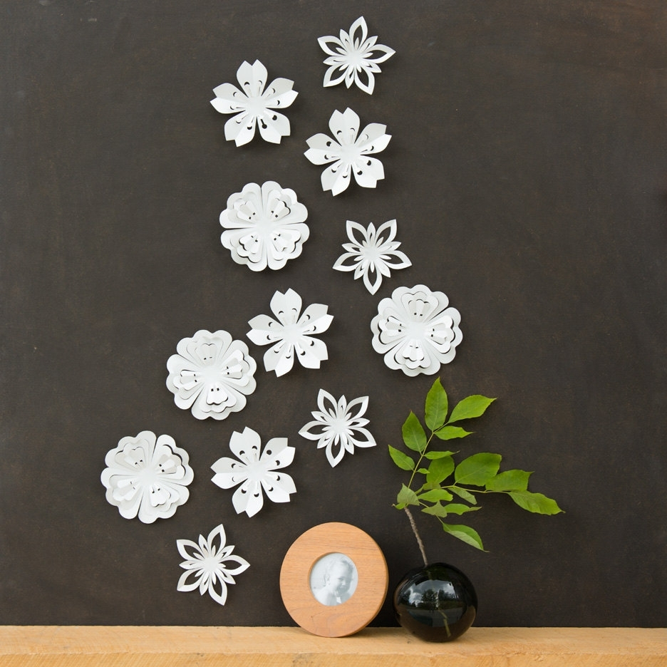 2017 Flower Wall Decor (View 6 of 15)