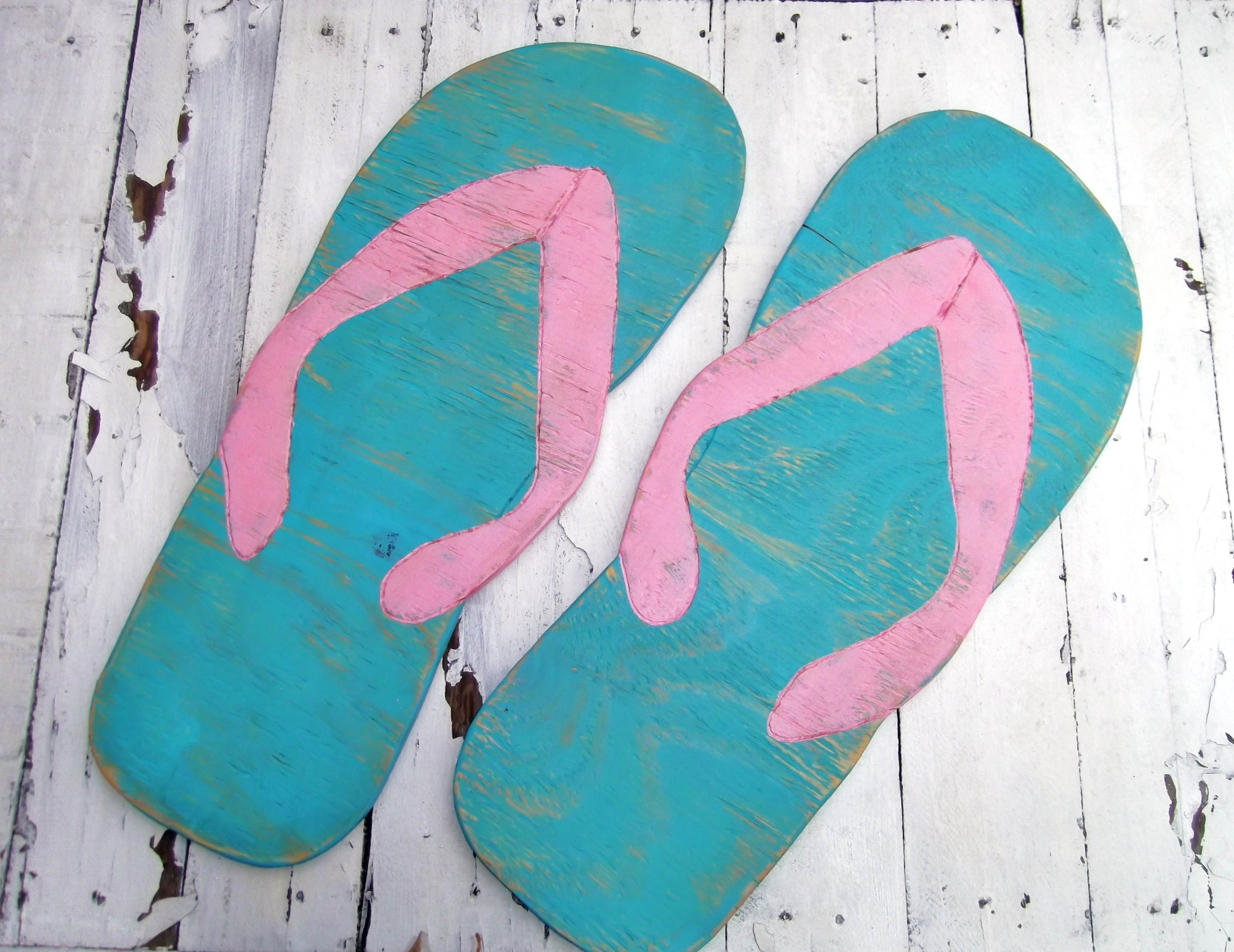 Featured Photo of Flip Flop Wall Art