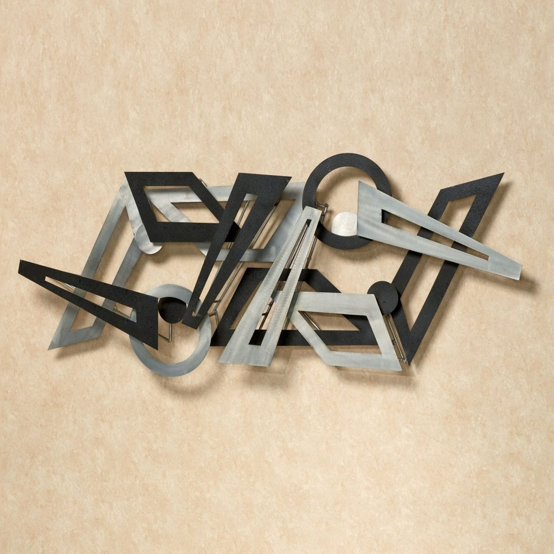 2017 Iron Wall Sculpture Large Metal Uk Modern Contemporary Abstract Art Regarding Contemporary Metal Wall Art (View 13 of 15)