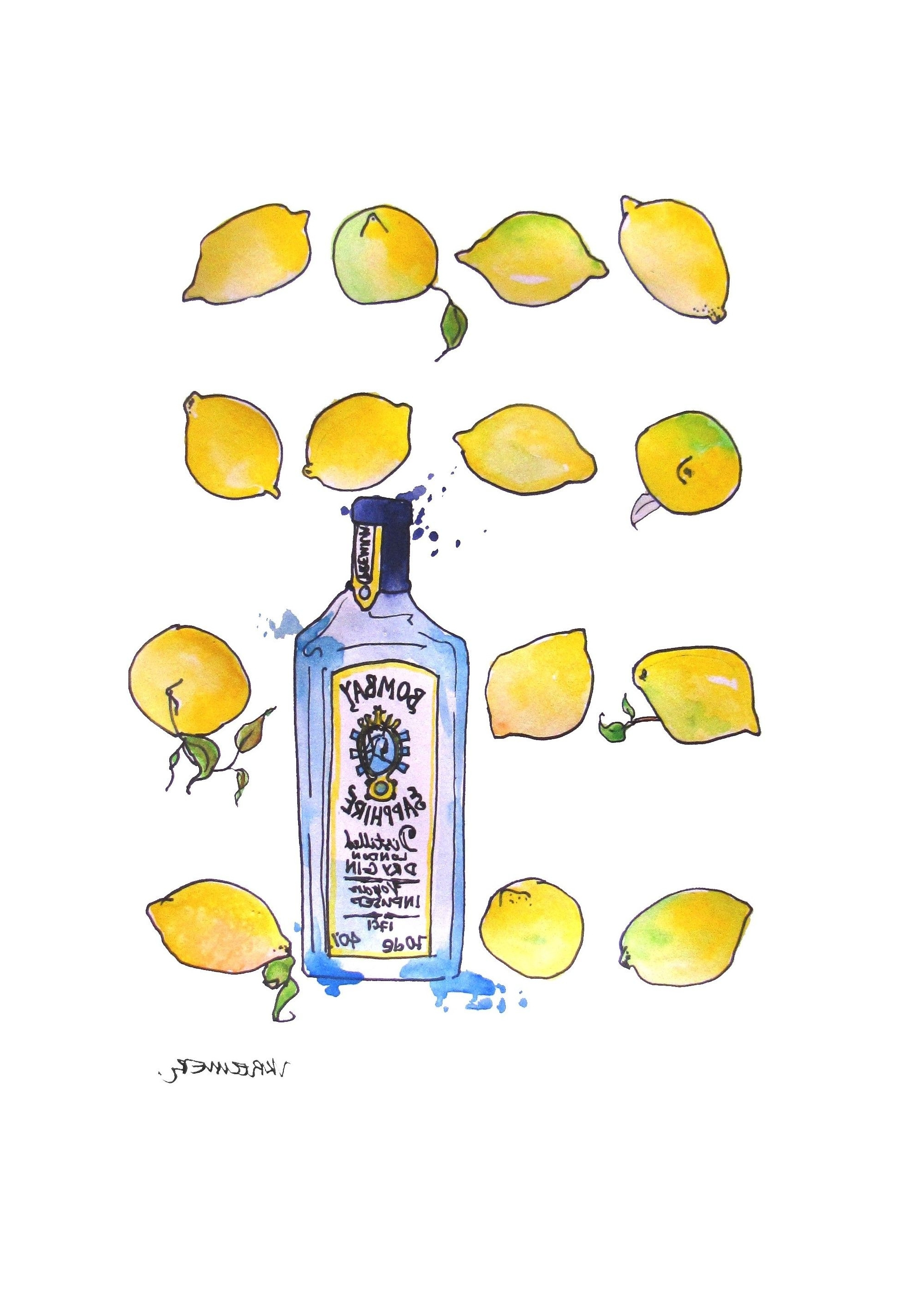 Featured Photo of Lemon Wall Art