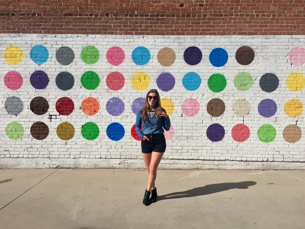 2017 Los Angeles Wall Art For Polka Dot Wall (View 1 of 15)