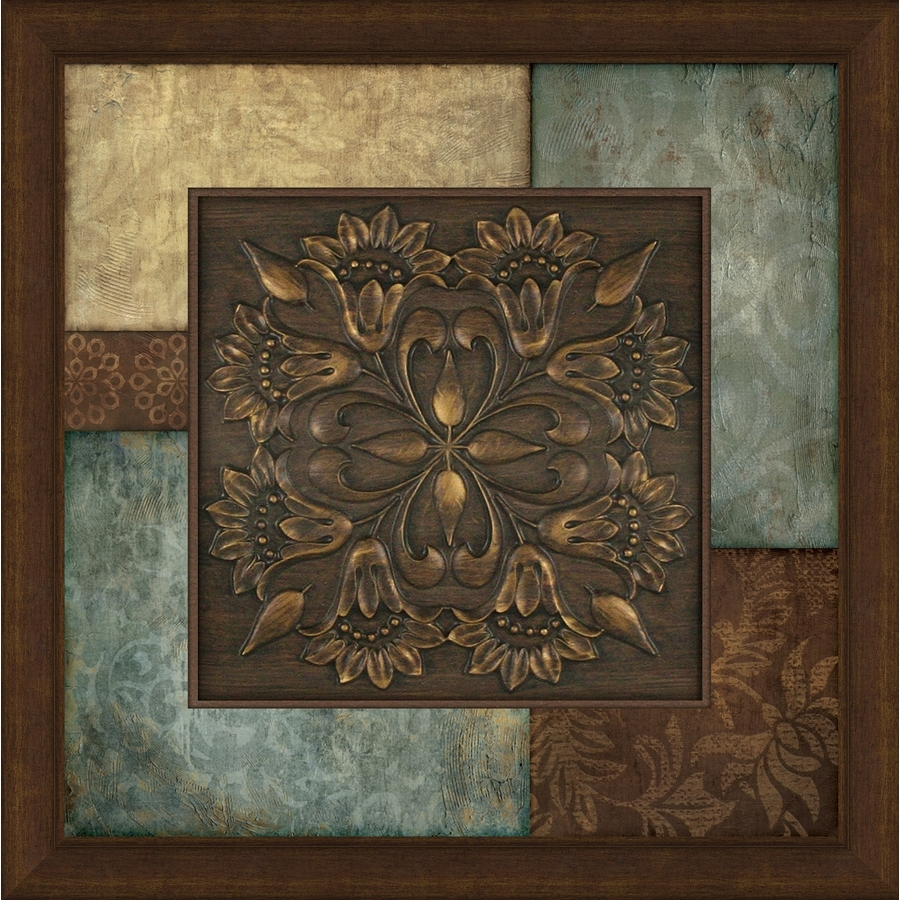 2017 Medallion Wall Art Within Medallion Wall Art – Culturehoop (View 11 of 15)