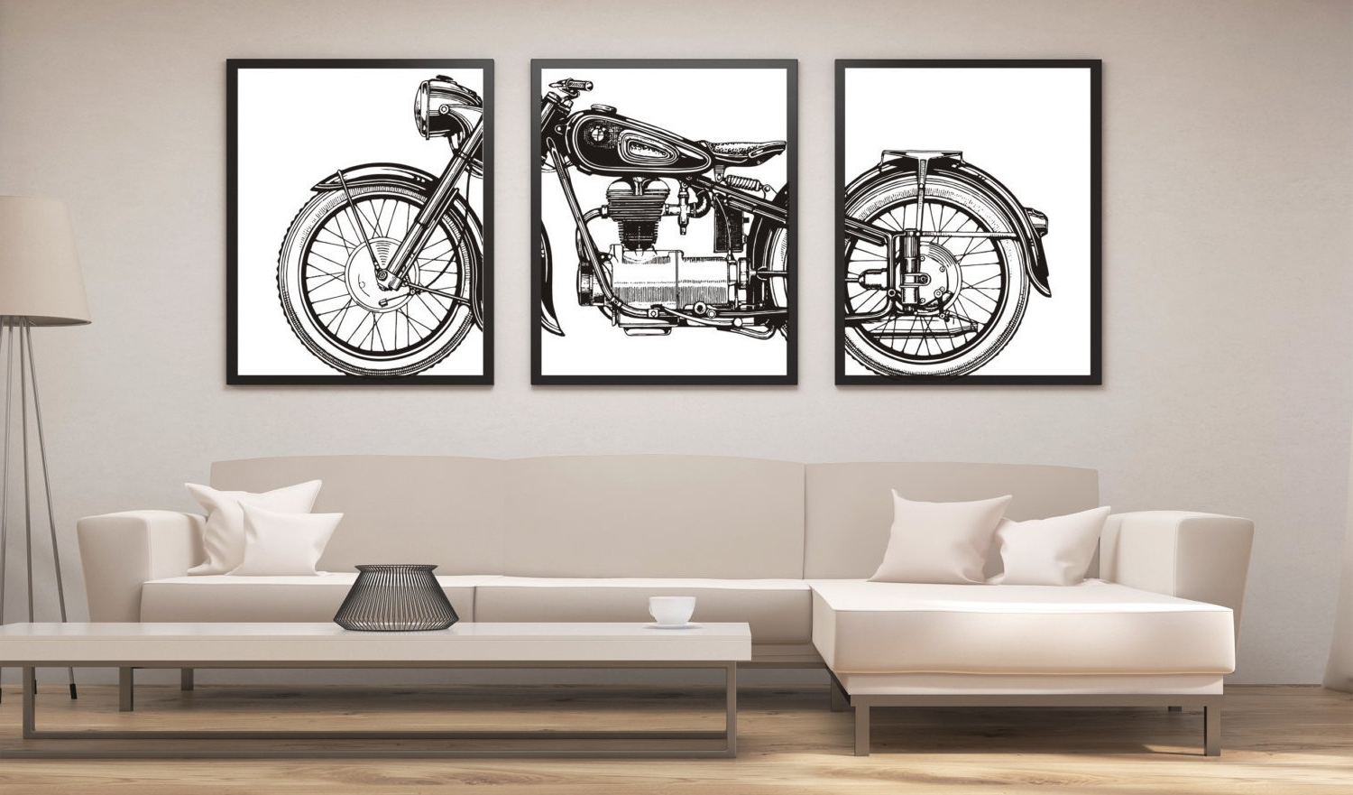 2017 Motorcycle Wall Art Print : Andrews Living Arts – Perfect Ideas Throughout Motorcycle Wall Art (View 1 of 15)