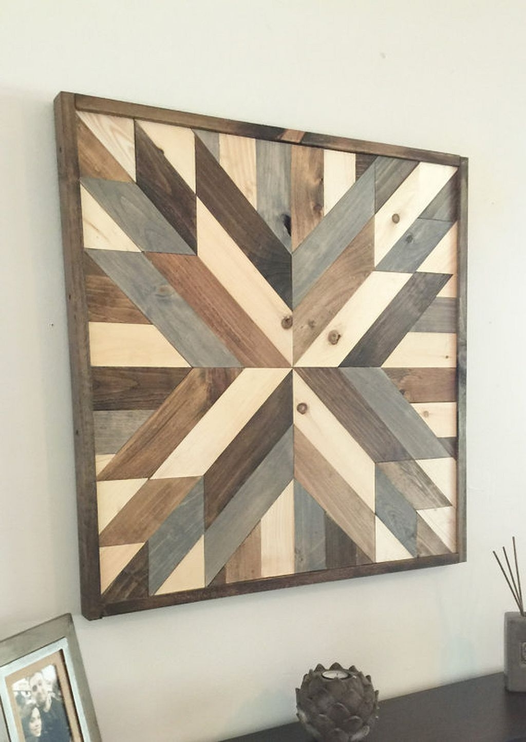 2017 Nice 50+ Rustic Wall Decor Ideas Https://architecturemagz/50 With Regard To Rustic Wall Art (View 1 of 15)