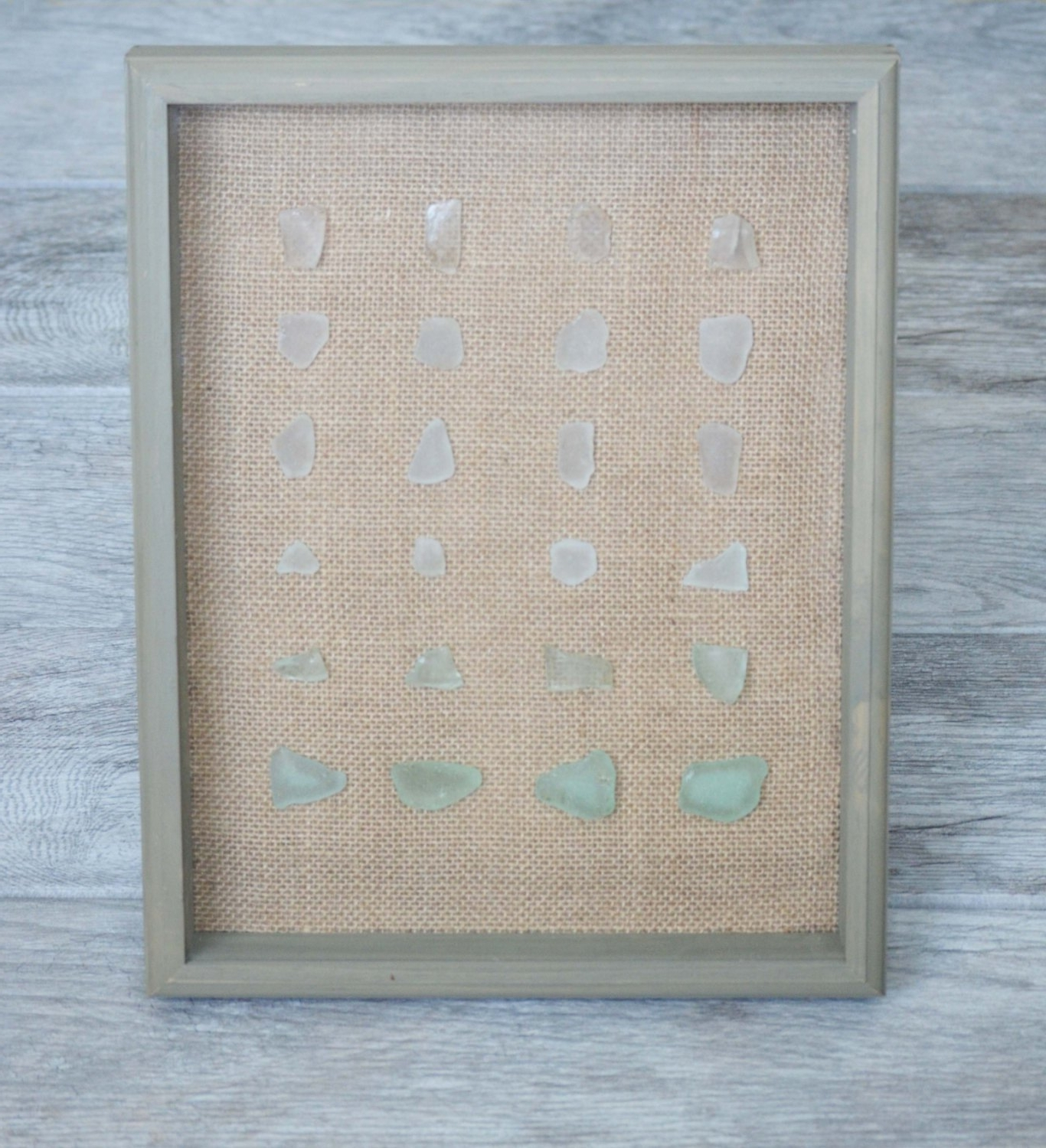 2017 Ombre Wall Art Home Decor Sea Glass Wall Art By, Sea Glass Wall Art Regarding Sea Glass Wall Art (View 1 of 15)