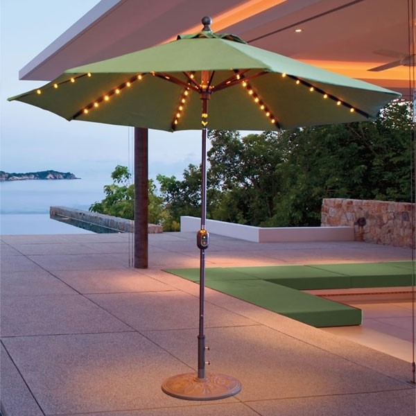 Featured Photo of Led Patio Umbrellas