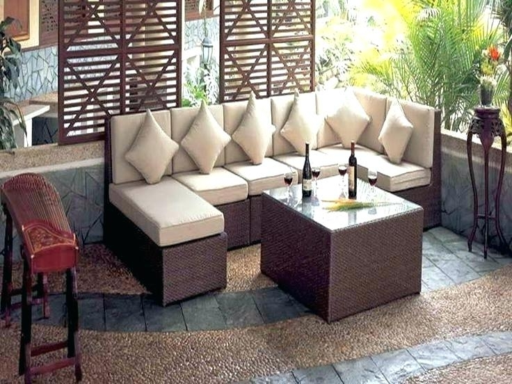 2017 Patio Umbrellas For Small Spaces Within Patio ~ Patio Furniture For Small Spaces Modern Outdoor Amazing With (View 4 of 15)