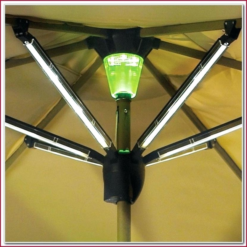 2017 Solar Powered Patio Umbrella Lights – Icookie Intended For Solar Powered Patio Umbrellas (View 7 of 15)