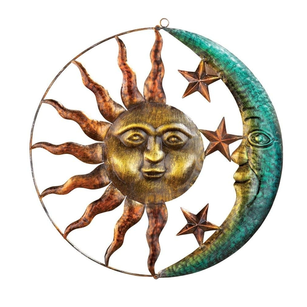2017 Sun And Moon Metal Wall Art For Amazon : Collections Etc Artistic Sun And Moon Metal Wall Art (View 7 of 15)