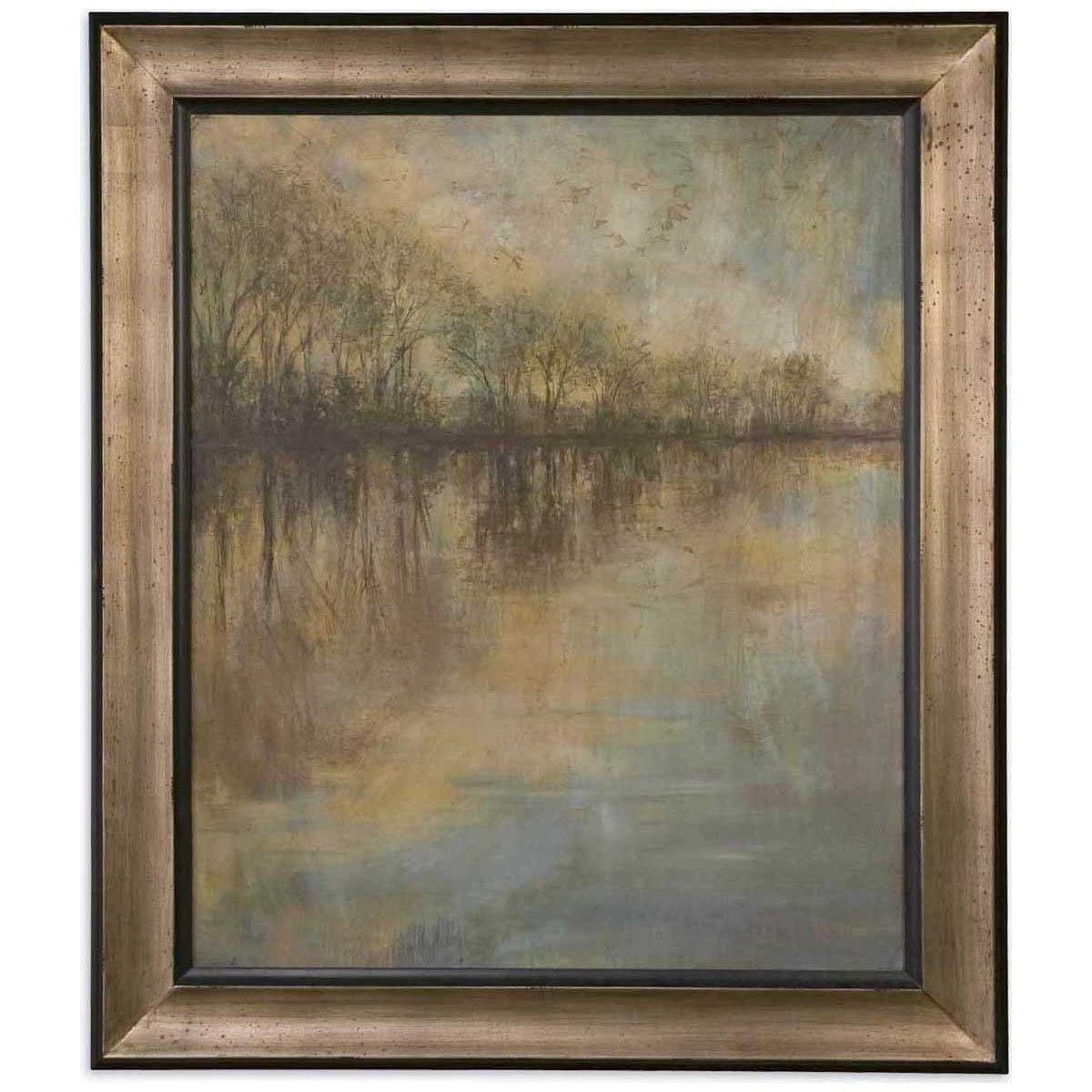 2017 Uttermost Wall Art With Regard To Amazon: Uttermost 41180 Winter Glow Framed Art: Prints: Posters (View 2 of 15)