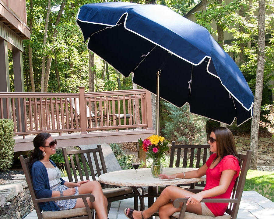 2017 Vinyl Patio Umbrellas Intended For Don't Skimp On Commercial Beach Umbrellas – They Play A Huge Part In (View 1 of 15)