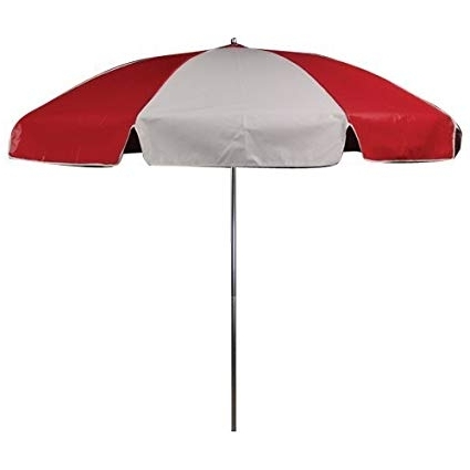 2017 Vinyl Patio Umbrellas Throughout Amazon : Outdoor Umbrella  (View 8 of 15)
