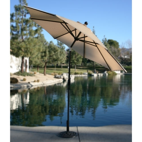 2018 Awesome Patio Umbrellas Costco Picture New Costco Patio Umbrella Pertaining To Patio Umbrellas From Costco (View 4 of 15)
