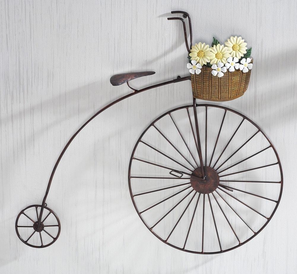 2018 Bicycle Wall Art Regarding Simple Metal Bicycle Wall Art : Andrews Living Arts – Homemade Metal (View 4 of 15)