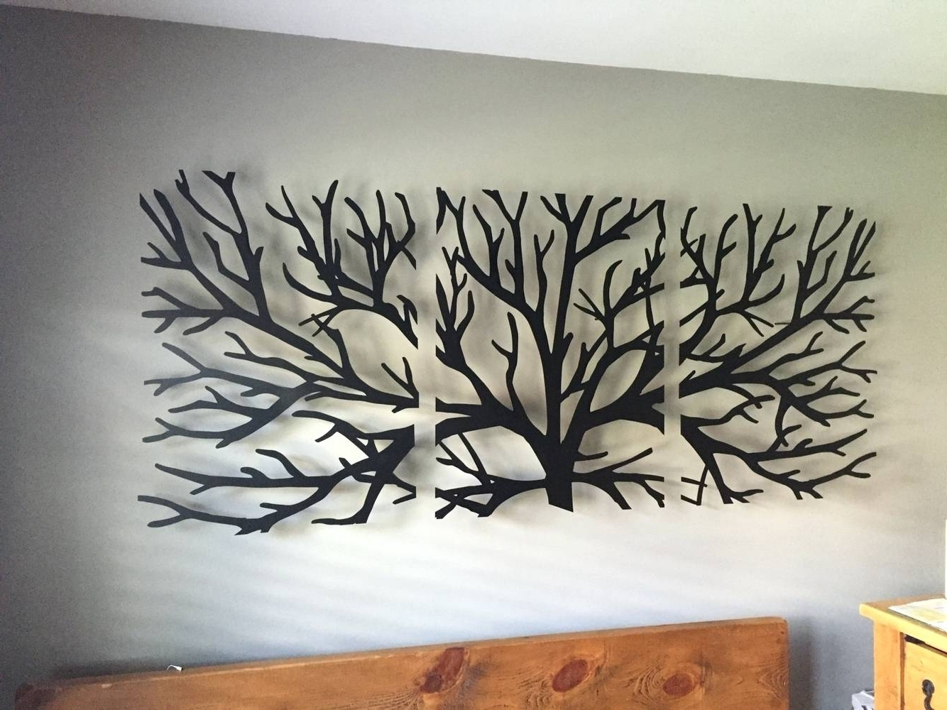 2018 Black Metal Wall Art Throughout Extra Large Metal Wall Art Awesome Best 20 Of With Crystals (View 8 of 15)