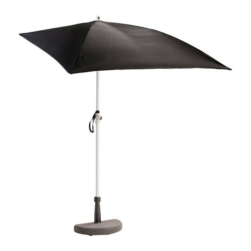 2018 Bramsön / Flisö Patio Umbrella With Base – Ikea With Regard To Ikea Patio Umbrellas (View 6 of 15)