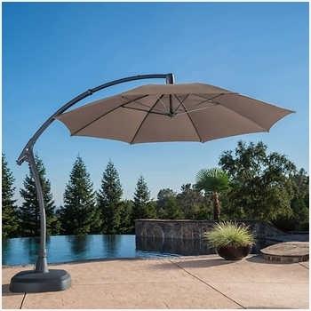 2018 Costco Cantilever Patio Umbrellas Regarding Cantilever Patio Umbrella Costco » Searching For Costco Patio (View 14 of 15)