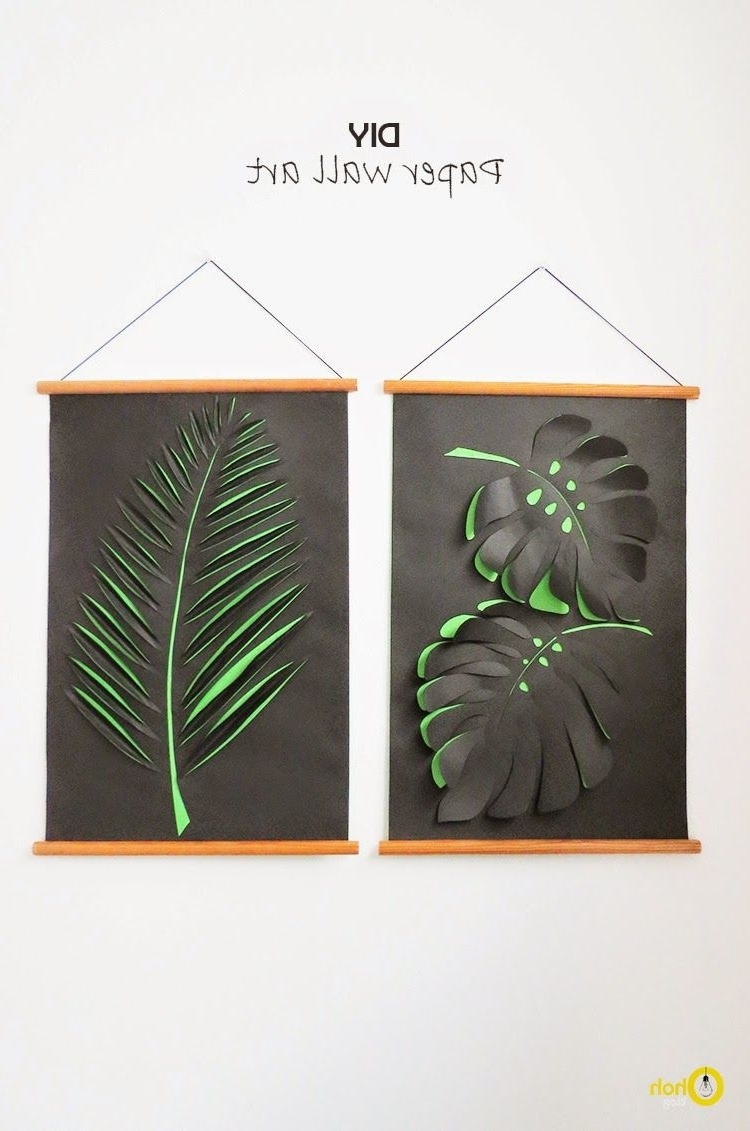 2018 Diy Paper Wall Art (View 2 of 15)