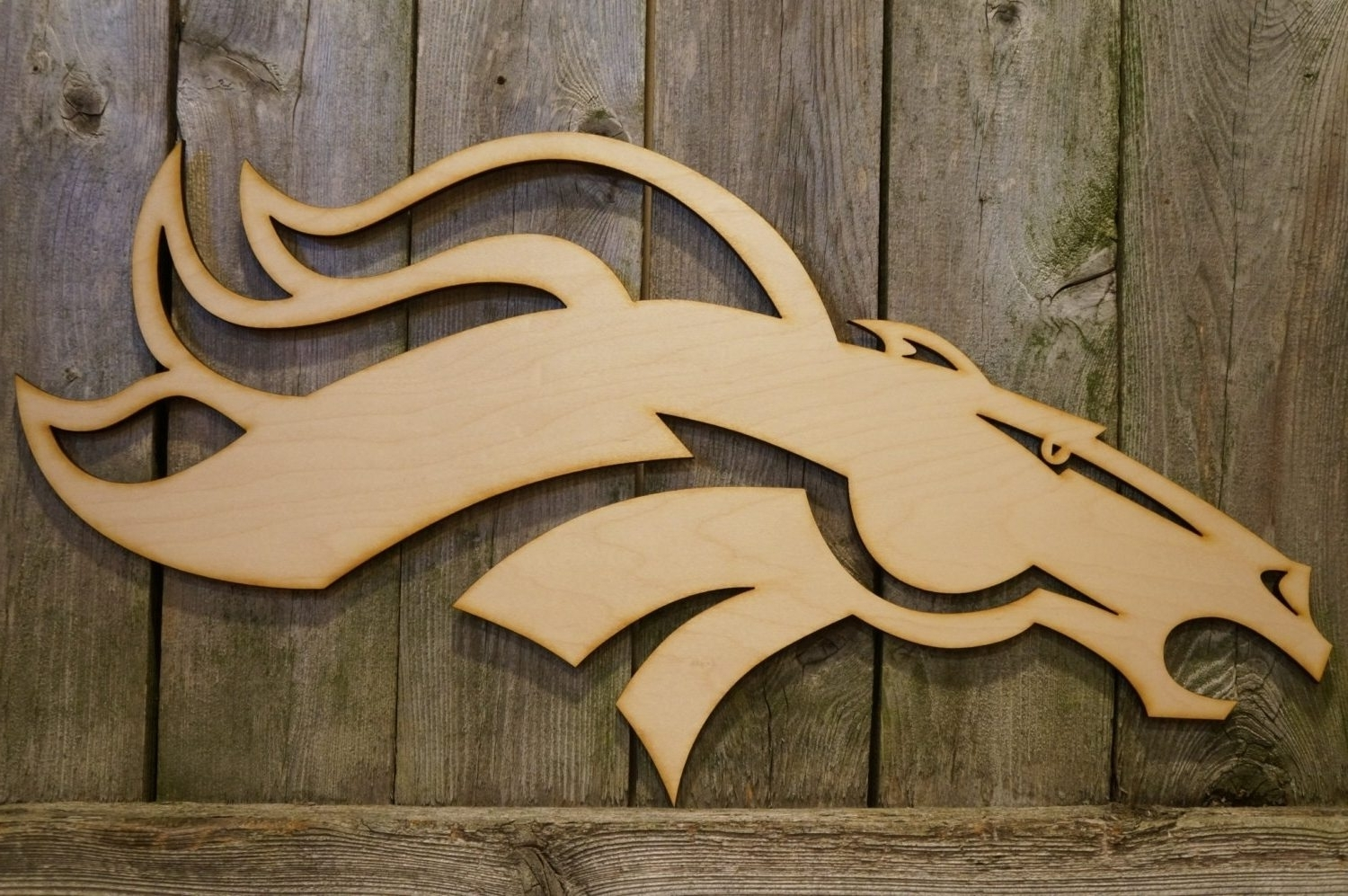 2018 Fascinating Denver Broncos Wall Decor Interior Decorating Chic With Broncos Wall Art (View 3 of 15)