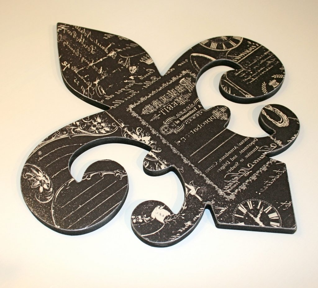 2018 Fleur De Lis Wall Art In Fleur De Lis Wall Art – Unavocecr (View 15 of 15)