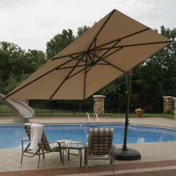 2018 Free Standing Umbrellas For Patio Throughout Great Free Standing Patio Umbrella Patio Ideas Freestanding Patio (View 10 of 15)