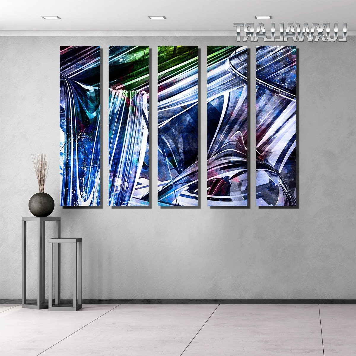2018 Huge Wall Art With Glossy Huge Wall Art On Aluminum Panels From $ (View 15 of 15)