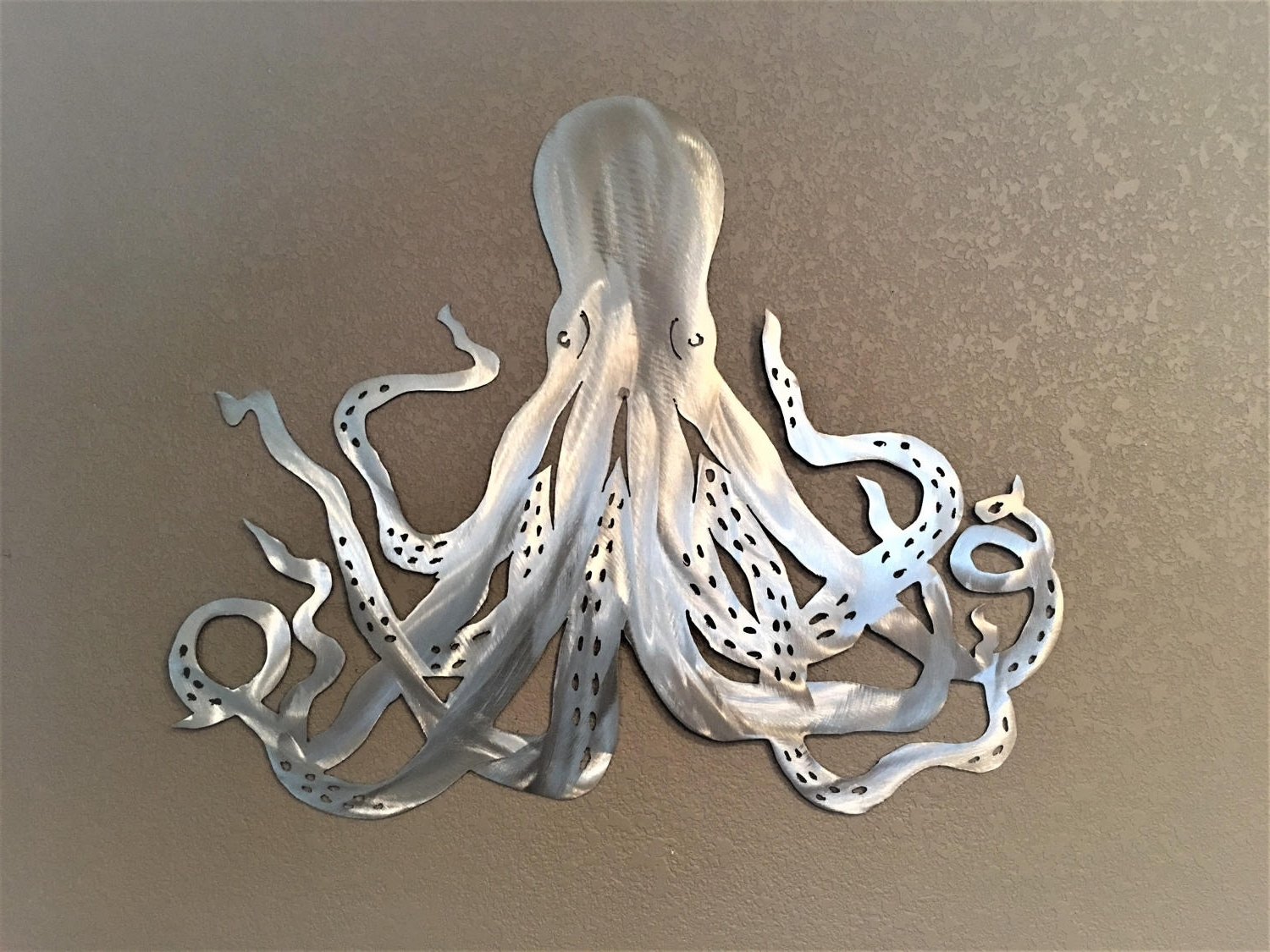 2018 Octopus Wall Art For Octopus Metal Wall Art. Ocean Life, Saltwater Series (View 3 of 15)