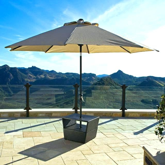 2018 Patio Table Umbrella Base – Rupeshsoft Within Patio Umbrellas For Tables (View 2 of 15)