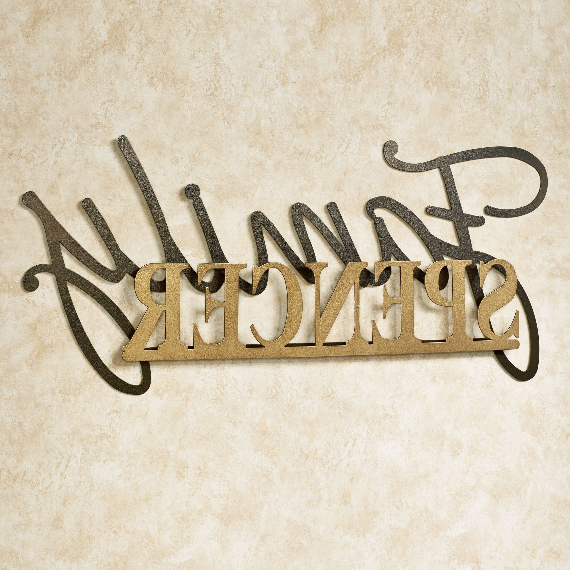 2018 Personalized Metal Wall Art Within Signature Personalized Metal Wall Art Signjasonw Studios (View 2 of 15)