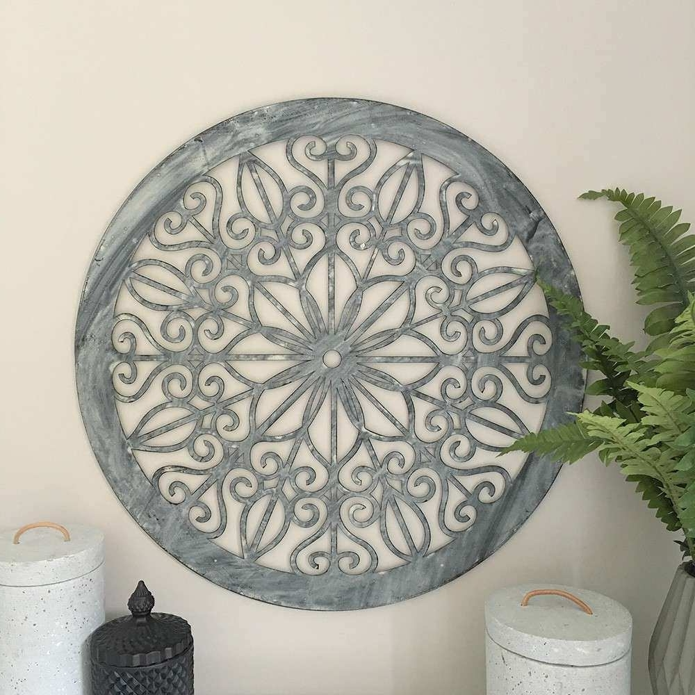 2018 Round Wall Art Awesome Decorative Round Wall Panel Humble Home With Round Wall Art (View 1 of 15)