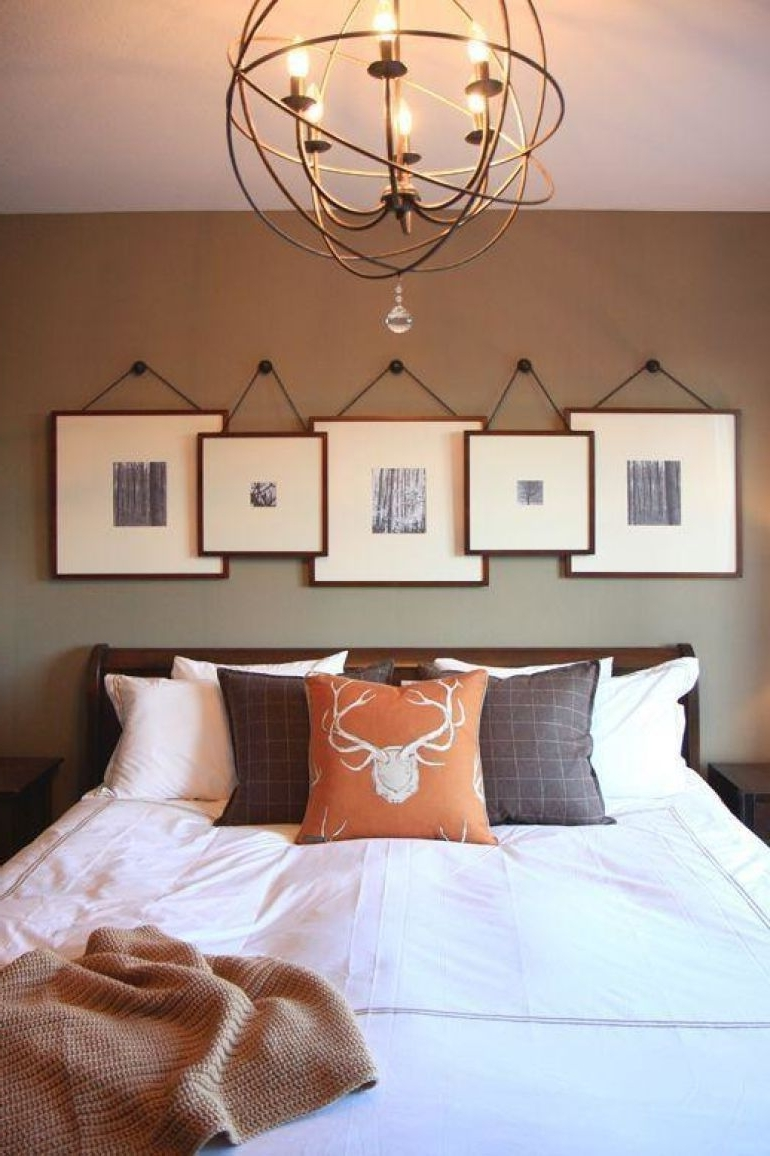 2018 Transform Your Favorite Spot With These 20 Stunning Bedroom Wall Inside Bedroom Wall Art (View 3 of 15)