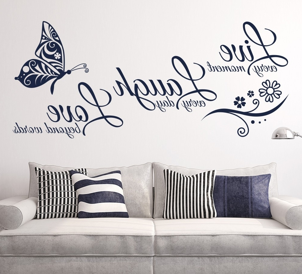 2018 Wall Art Ideas Design : Ideas Decorating Wall Art Stickers Stylish Regarding Wall Art Stickers (View 2 of 15)