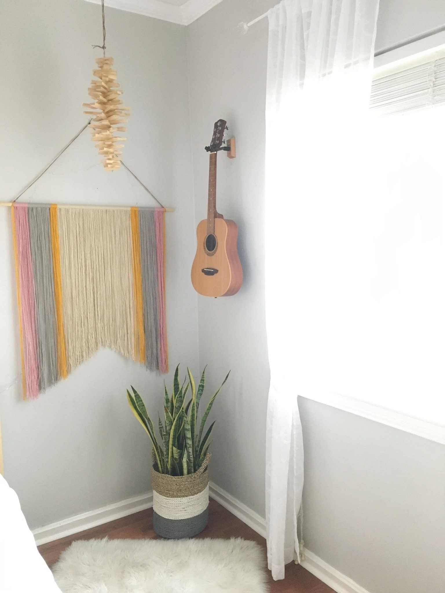 2018 Yarn Wall Art In Simple Diy Yarn Wall Art For $10 (Or Less) (View 8 of 15)