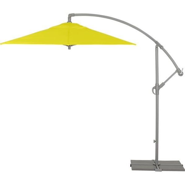 2018 Yellow Sunbrella Patio Umbrellas Throughout Eclipse Yellow Umbrella (View 11 of 15)