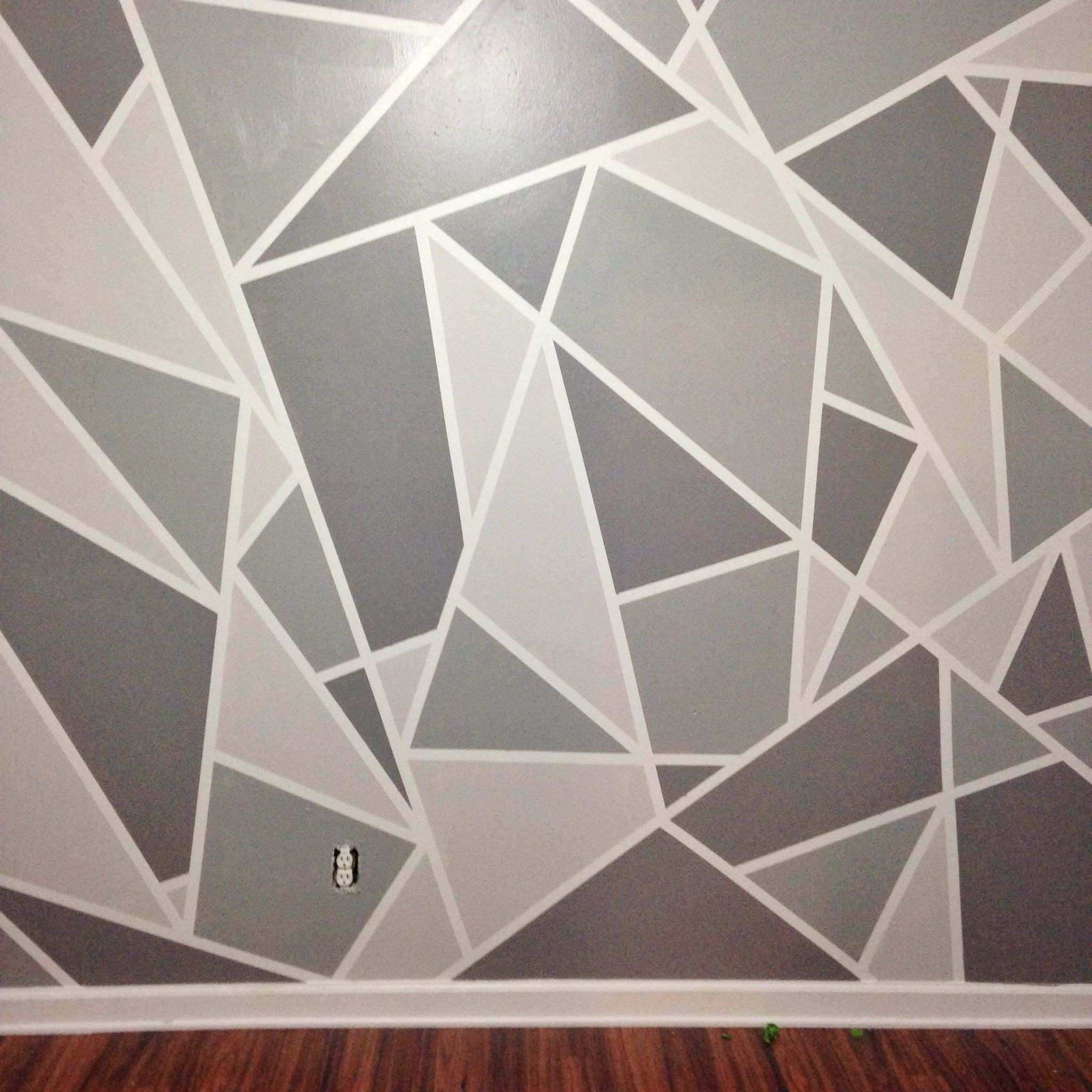3 Dimensional Wall Art in Most Recent 3 Dimensional Wall Art Lovely Diy Faux Wallpaper Accent Wall