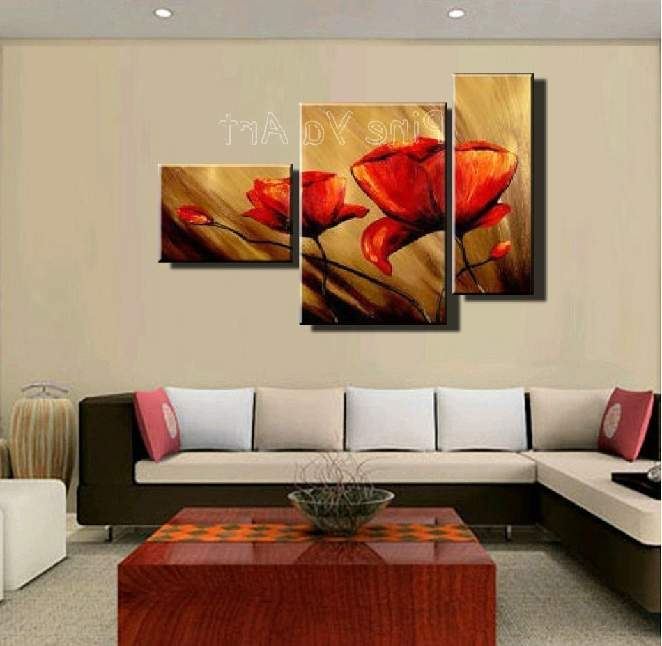 3 Piece Framed Wall Art Floral : Andrews Living Arts - Affordable 3 regarding Fashionable 3 Piece Wall Art