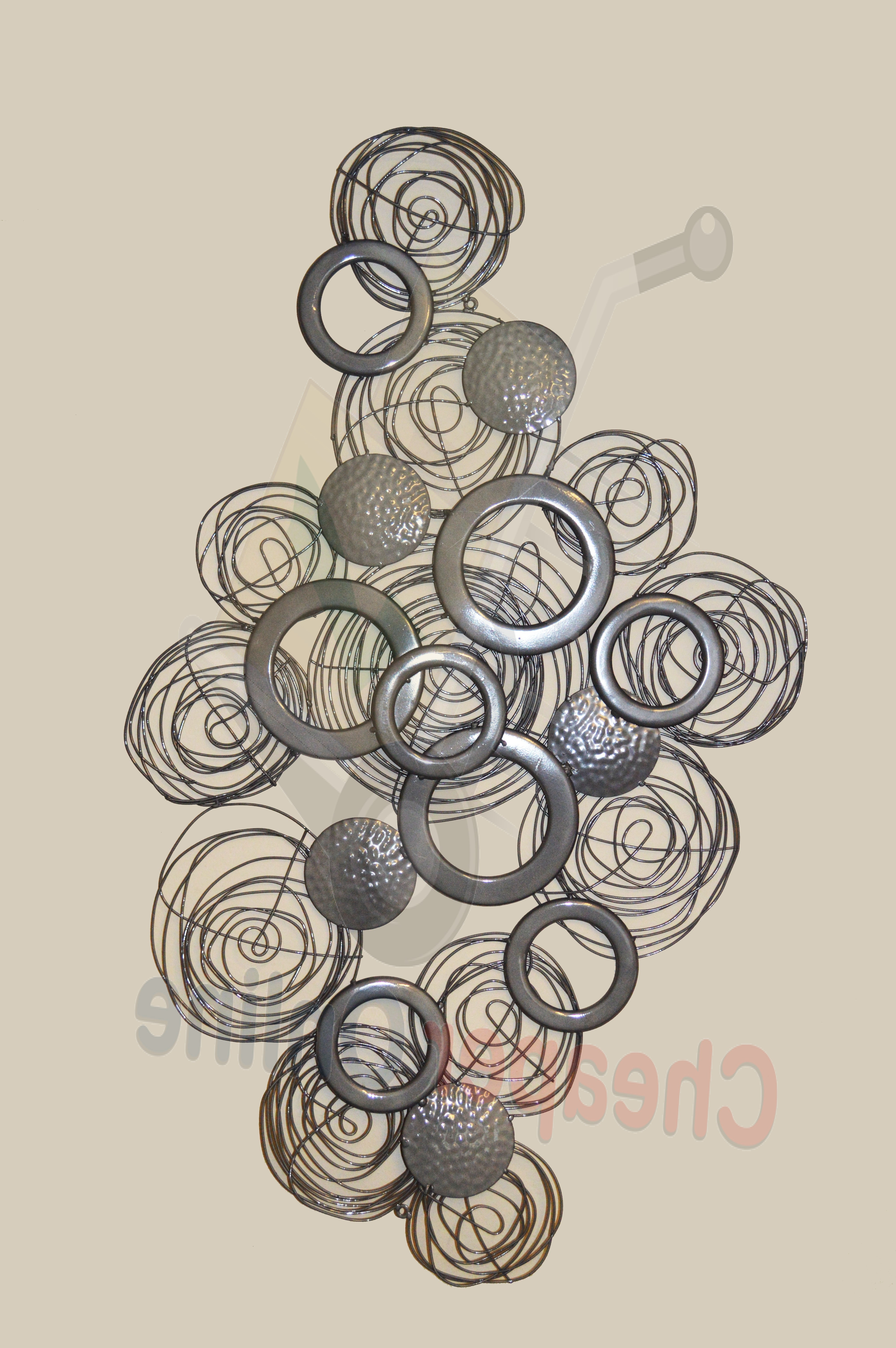3D Metal Wall Art Intended For Latest Abstract Metal Wall Art Uk Decorative 3D Metal Circle Wall Art (View 12 of 15)
