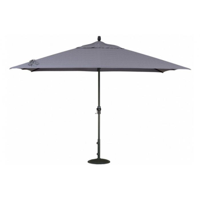 8' X 11' Rectangle Market Patio Umbrella – Umbrellas – Patio For Well Known Krevco Patio Umbrellas (View 3 of 15)