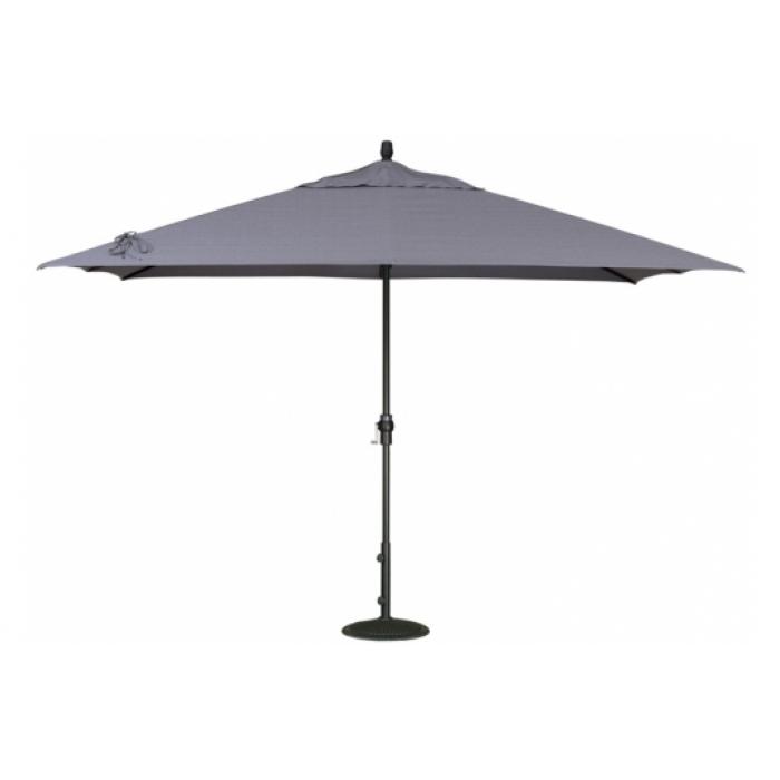 8' X 11' Rectangle Market Patio Umbrella - Umbrellas - Patio for Well known Krevco Patio Umbrellas