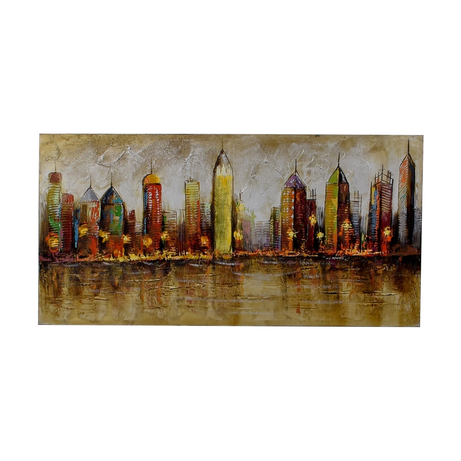 [%80% Off – Pier 1 Imports Pier 1 Imports Cityscape Painting / Decor Pertaining To Recent Pier 1 Wall Art|Pier 1 Wall Art With Trendy 80% Off – Pier 1 Imports Pier 1 Imports Cityscape Painting / Decor|Well Known Pier 1 Wall Art Within 80% Off – Pier 1 Imports Pier 1 Imports Cityscape Painting / Decor|2017 80% Off – Pier 1 Imports Pier 1 Imports Cityscape Painting / Decor Within Pier 1 Wall Art%] (View 2 of 15)