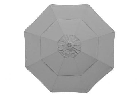 9' Commercial Double Vent Market Umbrella