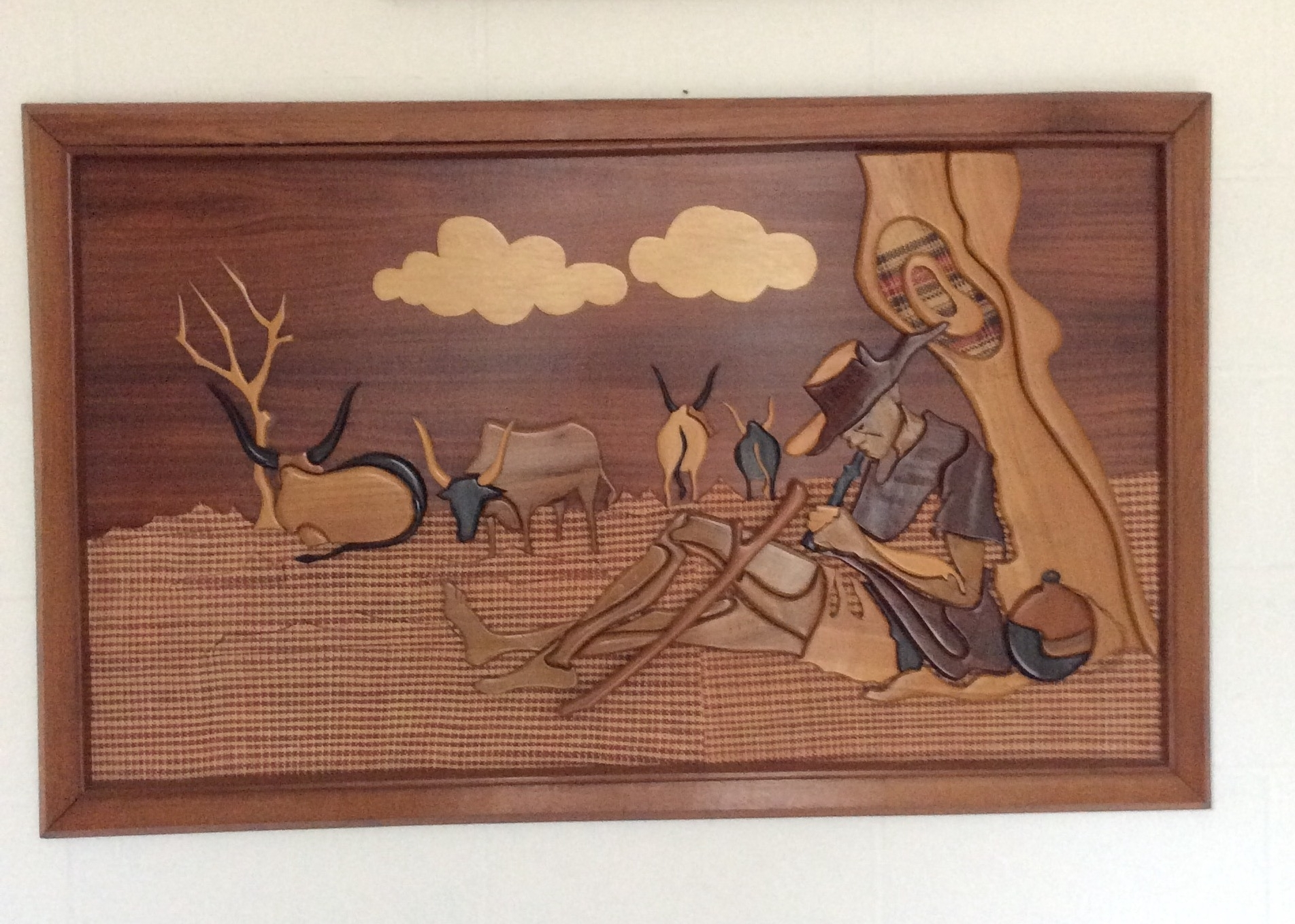 African Wall Art With Newest Wooden African Wall Art – Kazeem The Tomb Raider (View 7 of 15)