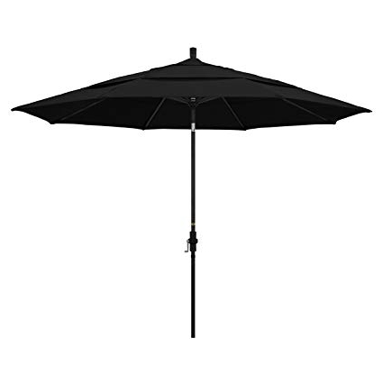 Featured Photo of Sunbrella Black Patio Umbrellas
