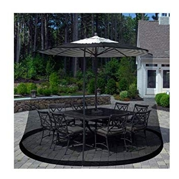 Amazon: Patio Umbrella Cover Mosquito Netting Screen For Patio Intended For Newest Patio Umbrellas With Netting (View 2 of 15)