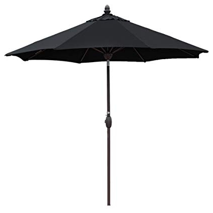 Amazon: Sunbrella Patio Umbrella 9 Feet Outdoor Market Table Pertaining To Newest Sunbrella Patio Table Umbrellas (View 1 of 15)