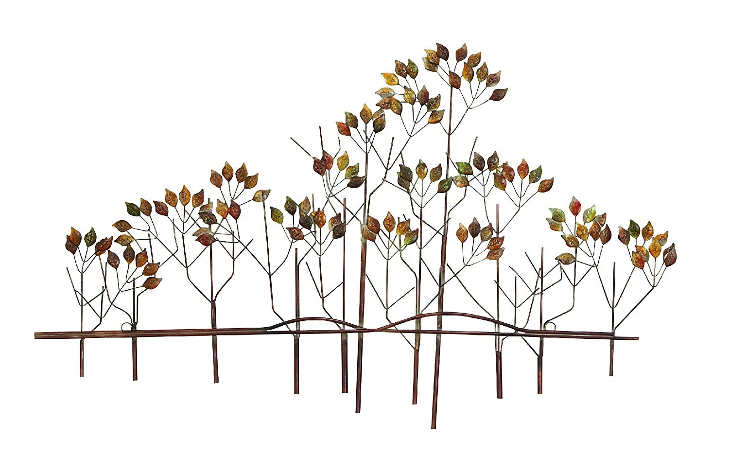 Amazon: Tree Of Life Metal Wall Art Sculptures Home Decor Life Within Best And Newest Metal Wall Art Trees (View 3 of 15)