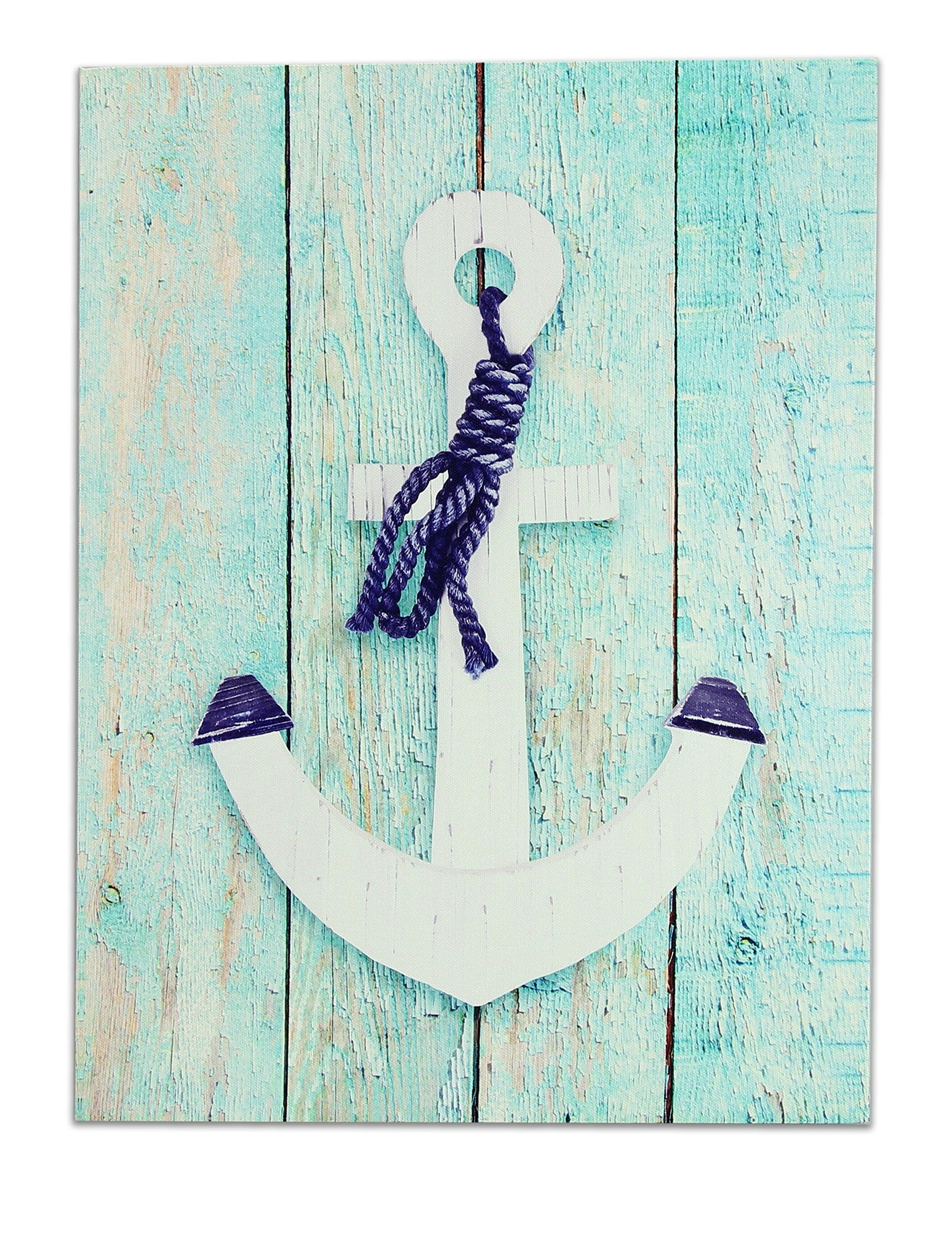 """Anchor Wall Art Throughout Most Up To Date Young's 16699 11.75"""" X 0.75"""" X  (View 3 of 15)"""